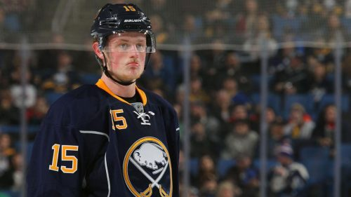 Jack Eichel disappointed
