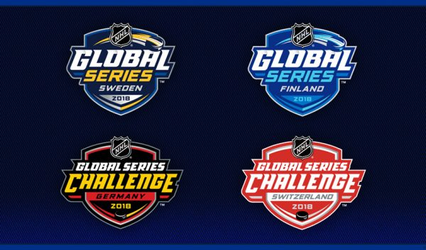 NHL Global Series logos