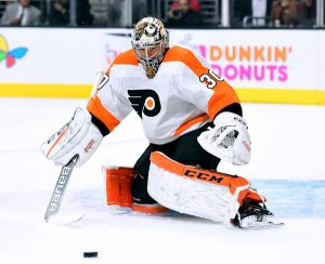Flyers goalie Michal Neuvirth