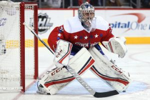 Philipp Grubauer in game for Washington Capitals