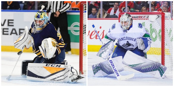 Carter Hutton and Jacob Markstrom