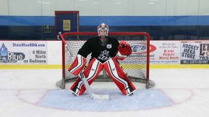 Basic goalie stance