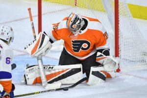 Carter Hart, Philadelphia Flyers goalie