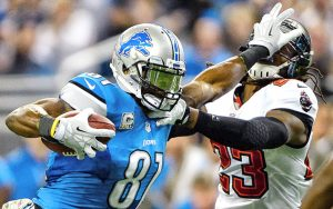Former Detroit Lions wide receiver Calvin Johson