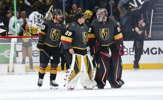 Marc-Andre Fleury and Robin Lehner
