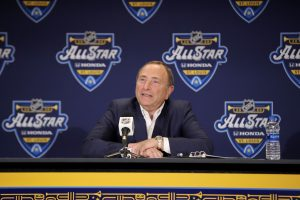 NHL Commissioner Gary Bettman said back in April that the NHL season was likely to be completed differently than normal