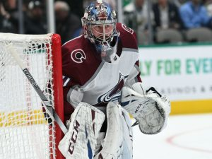 After overcoming an injury this year, Grubauer has taken the reins as Avs' starter