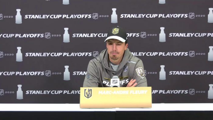 Fleury press conference