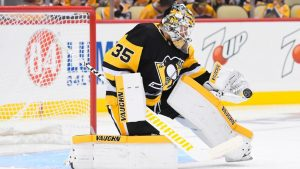 Tristan Jarry spent last season in the NHL with the Penguins, backing up Matt Murray