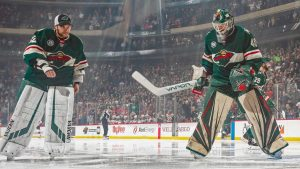Devan Dubnyk looks to add stability to a Sharks crease plagued by worry of late